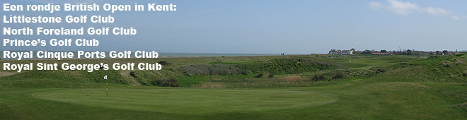 Een rondje British Open in Kent
