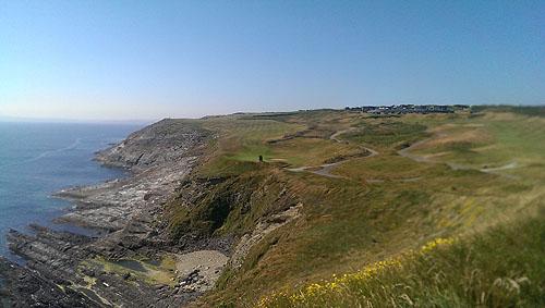 Spectaculaire vergezichten op Old Head Golf Links maken een ronde onvergetelijk.