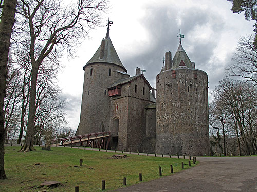 Coch Castle is een echte aanrader voor liefhebbers van kastelen.