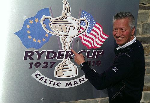 De Golftraveler op Celtic Manor, klaar om de Twenty Ten Course te spelen!