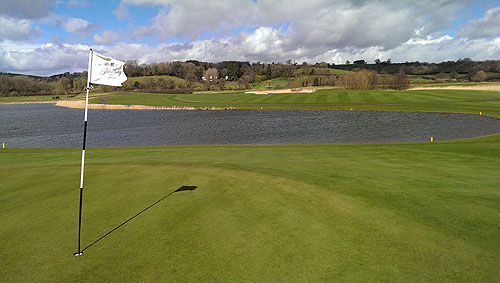 Celtic Manor, de Twenty Ten Course waar de Ryder Cup in 2010 is geweest.