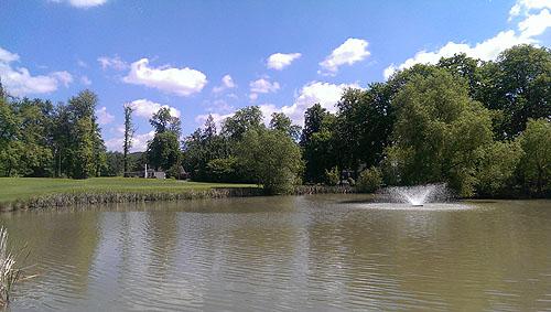 Er is trouwens ook water op Schloss Auel
