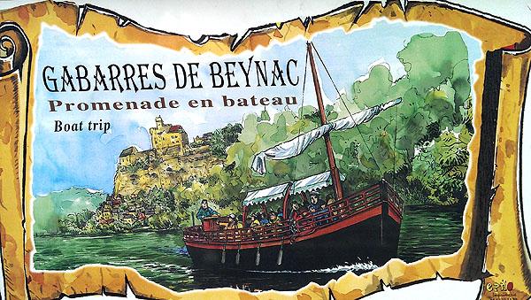 Of maak een boottocht op één van de Gabarres de Beynac...