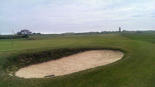 Littlestone Golf Club, hier is kwalificatie voor het British Open gespeeld