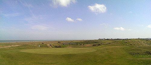 Weidse uitzichten op Royal Cinque Ports Golf Club