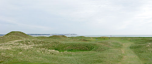 Links golf pur sang op Royal Sint George's Golf Club