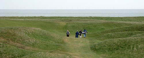 Voor de liefhebbers, British Open links golf in Kent