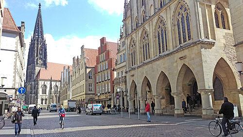 De prachtige Altstad van Münster
