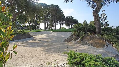 Een prachtige practice area om het bunkerspel te oefenen is ook aanwezig