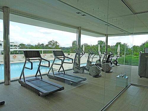Voor wie golf alleen niet voldoende is, wacht de fittnes in The Residents Club voor een extra workout